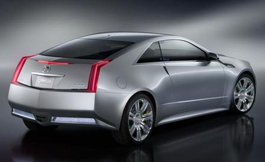 Cadillac CTS Coupe concept - Slide 12