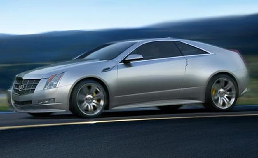 Cadillac CTS Coupe concept - Slide 13