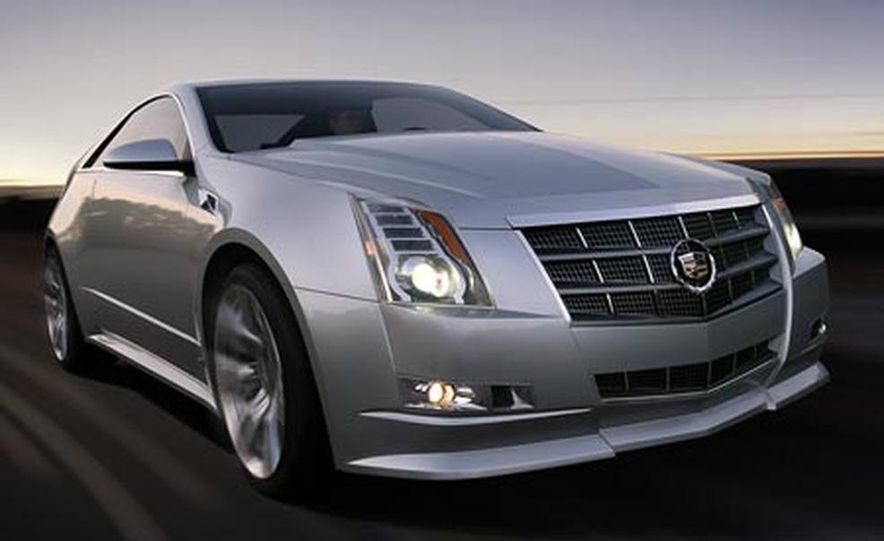 Cadillac CTS Coupe concept - Slide 15