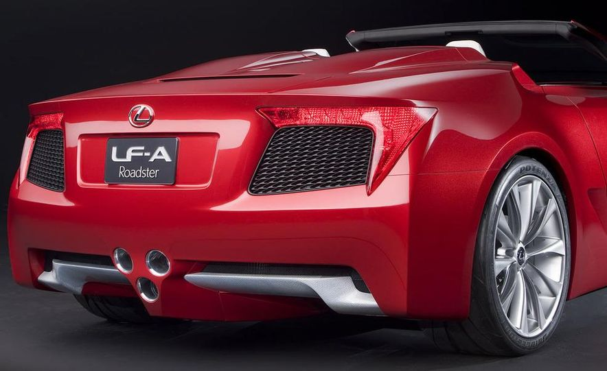 Lexus LF-A roadster concept - Slide 4