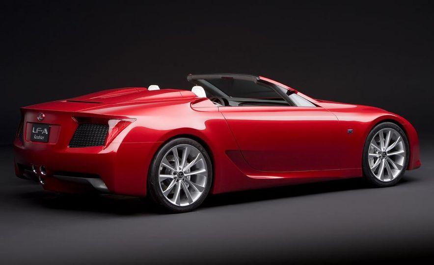 Lexus LF-A roadster concept - Slide 3