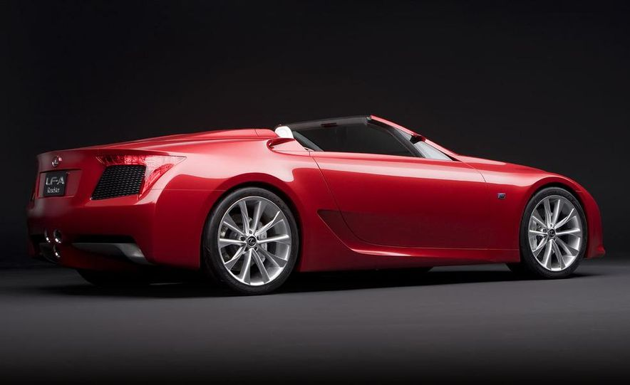 Lexus LF-A roadster concept - Slide 7