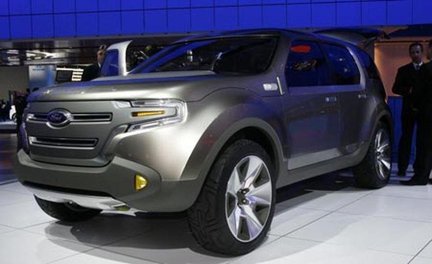 Ford Explorer America  concept - Slide 1