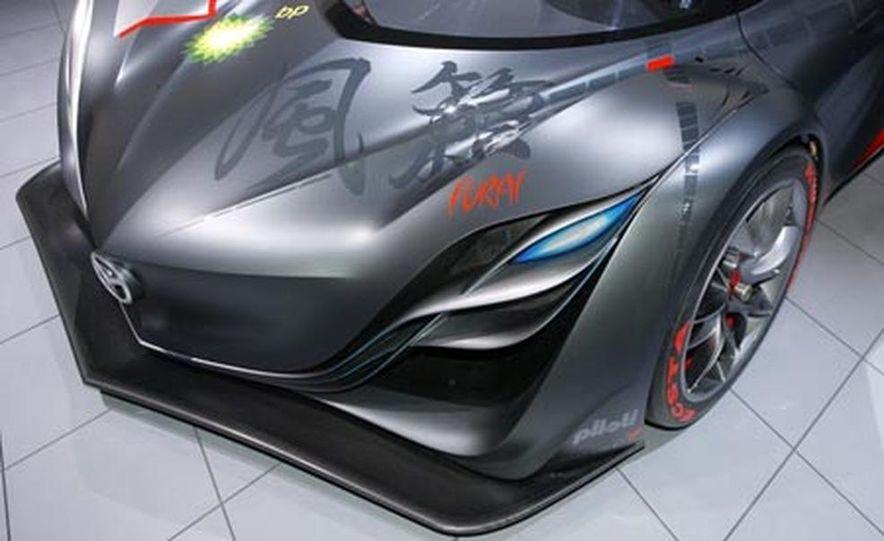 Mazda Furai concept - Slide 25