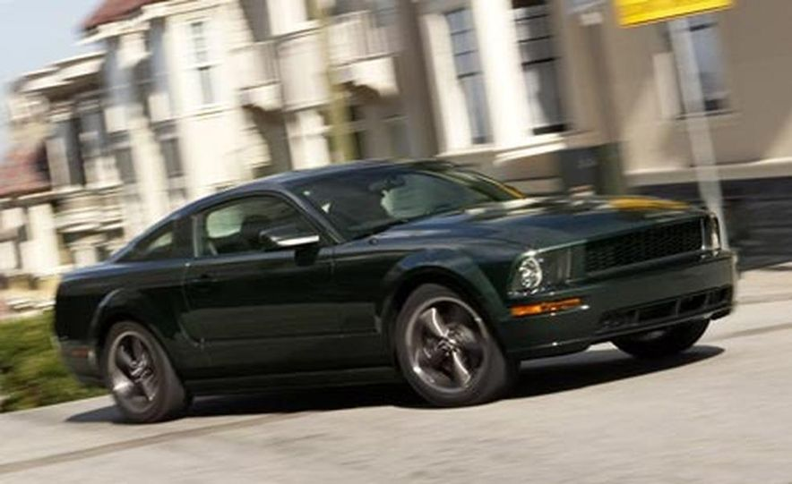 2009 Ford Mustang with glass roof option - Slide 7
