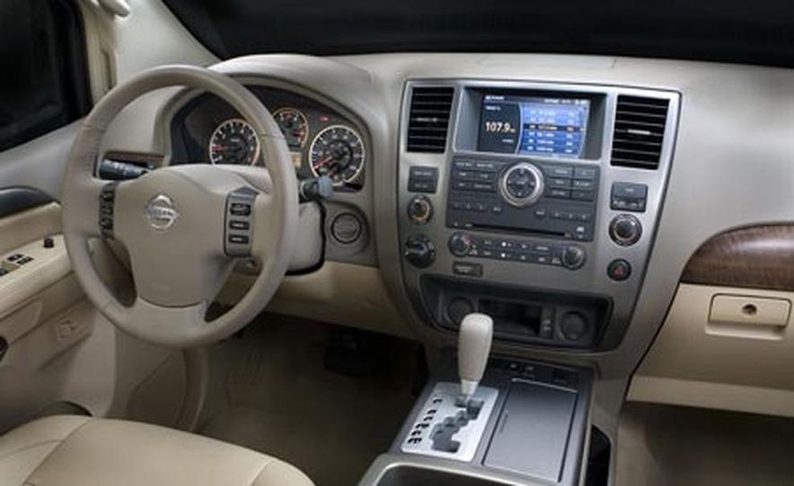 2008 Nissan Armada - Slide 11