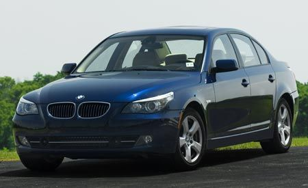 BMW 535i vs. BMW 550i