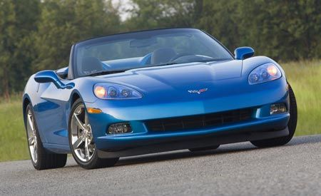 Chevrolet Corvette Convertible vs. Cadillac XLR-V