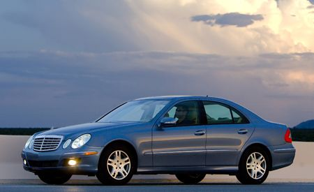 Mercedes-Benz E320 BlueTec vs. Lexus LS600hL