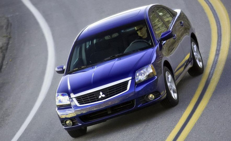 2009 Mitsubishi Galant - Slide 5