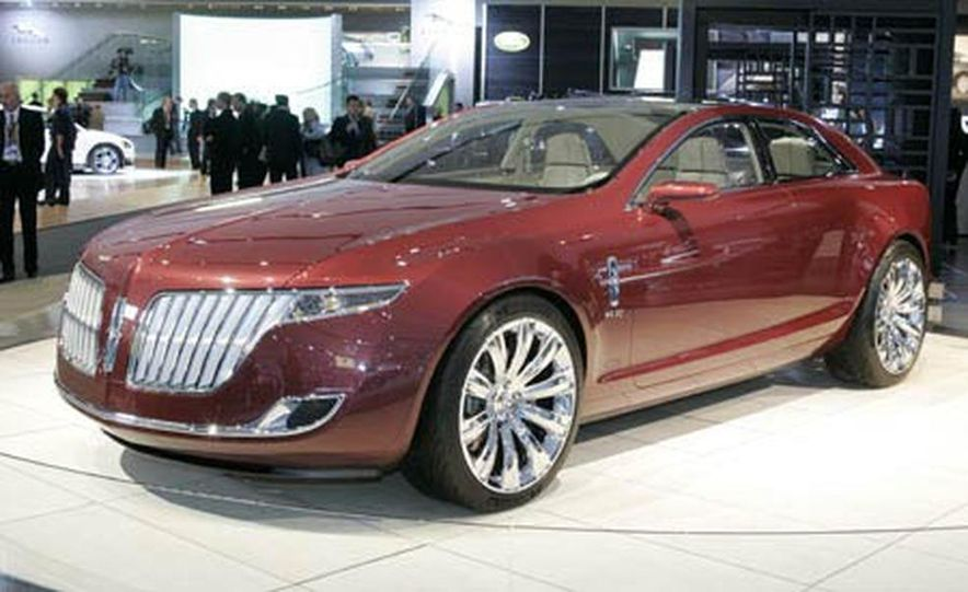 Lincoln MKR concept - Slide 1