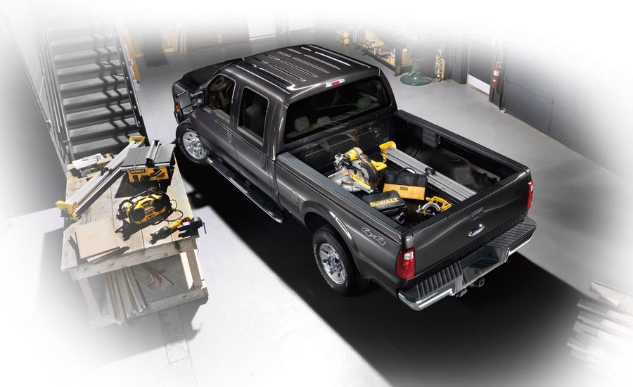 Ford Work Solutions for F-series Pickups - Locked Down