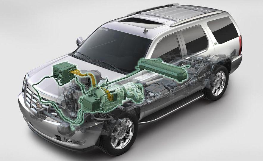 2009 Cadillac Escalade hybrid cutaway illustration - Slide 1