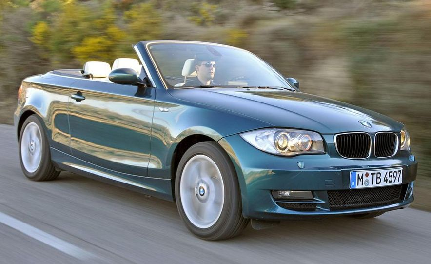 2008 BMW 128i convertible - Slide 1