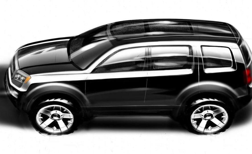 2009 Honda Pilot concept - Slide 9