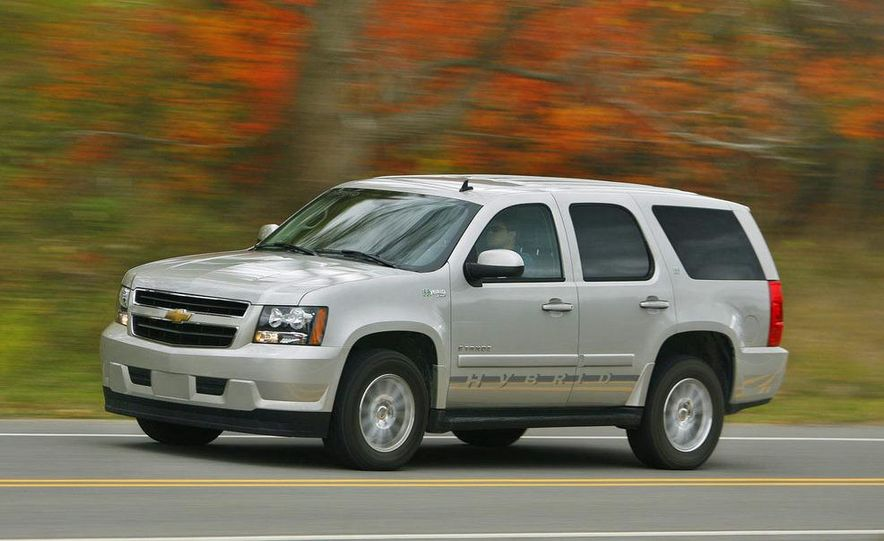 2008 Chevrolet Tahoe hybrid - Slide 3