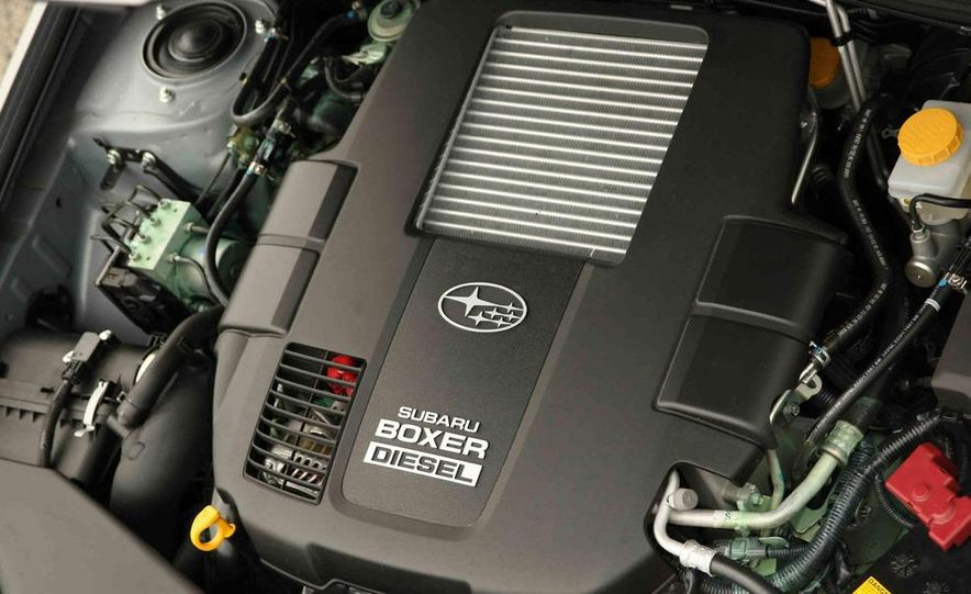 2008 Subaru Legacy Diesel European spec - Slide 16