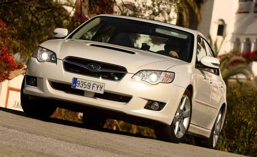 2008 Subaru Legacy Diesel European spec - Slide 12