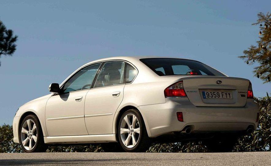 2008 Subaru Legacy Diesel European spec - Slide 8