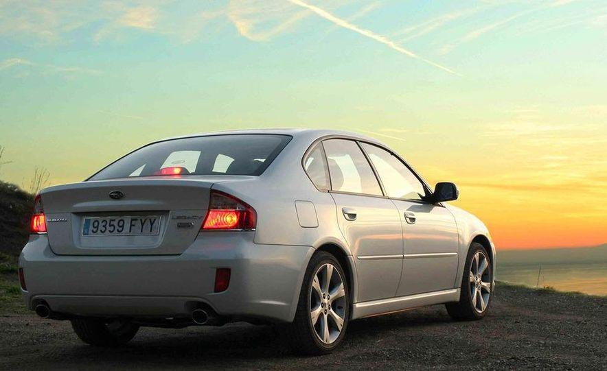 2008 Subaru Legacy Diesel European spec - Slide 3