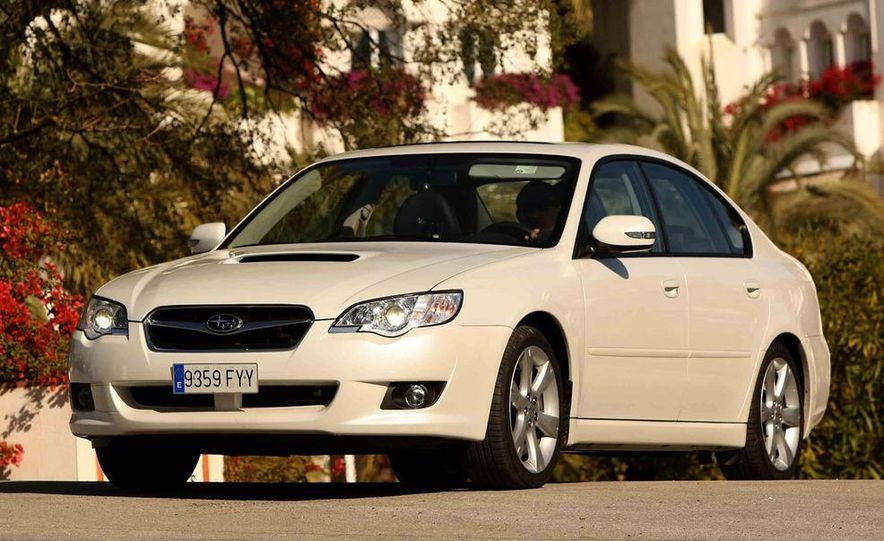 2008 Subaru Legacy Diesel European spec - Slide 9