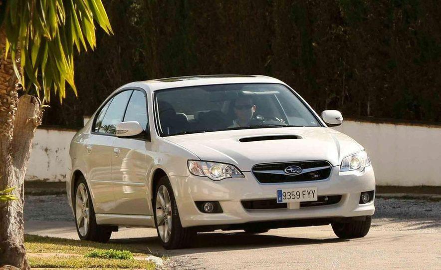 2008 Subaru Legacy Diesel European spec - Slide 10