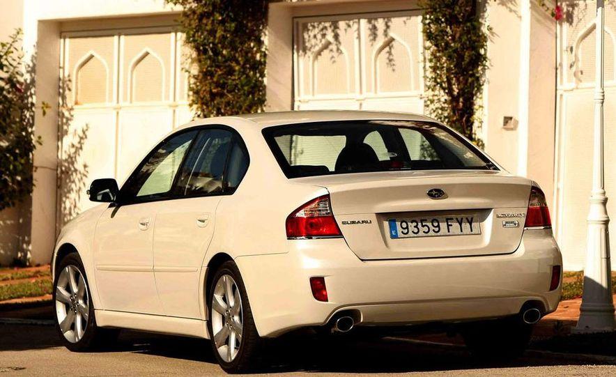 2008 Subaru Legacy Diesel European spec - Slide 11