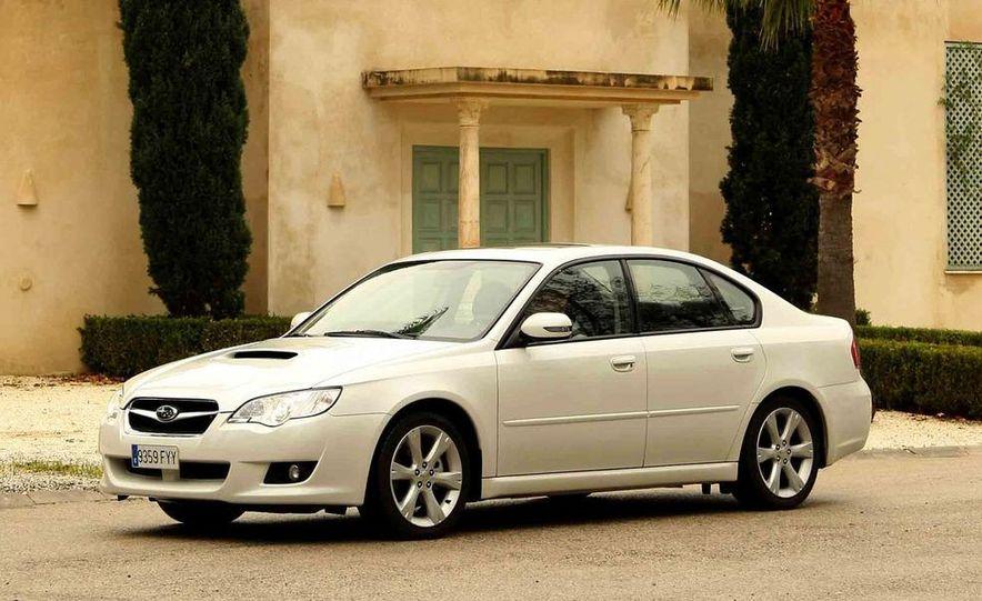2008 Subaru Legacy Diesel European spec - Slide 13