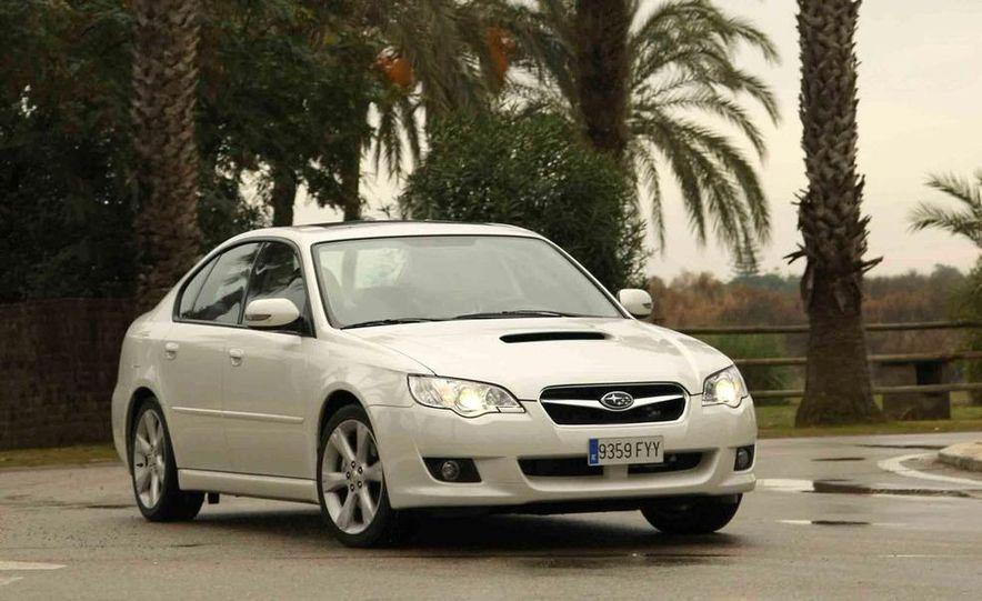 2008 Subaru Legacy Diesel European spec - Slide 6