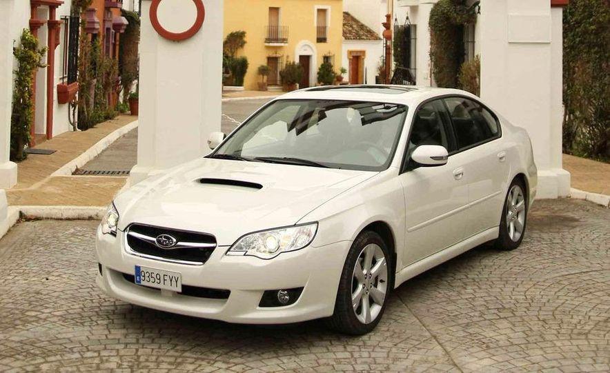 2008 Subaru Legacy Diesel European spec - Slide 1