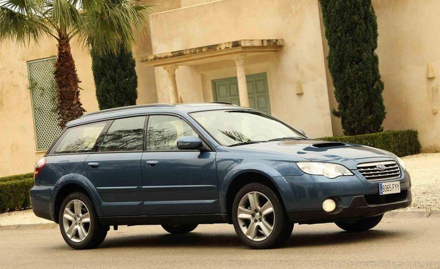 2008 Subaru Legacy Diesel European spec - Slide 19