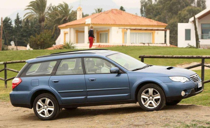 2008 Subaru Legacy Diesel European spec - Slide 18