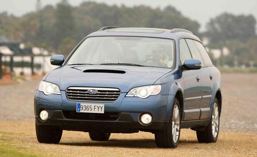 2008 Subaru Legacy Diesel European spec - Slide 24