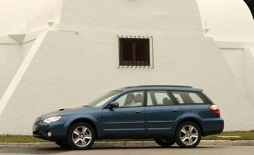 2008 Subaru Legacy Diesel European spec - Slide 22