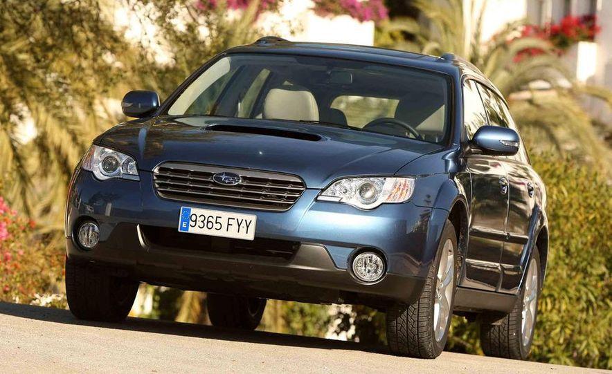 2008 Subaru Legacy Diesel European spec - Slide 21