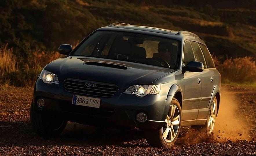 2008 Subaru Legacy Diesel European spec - Slide 25