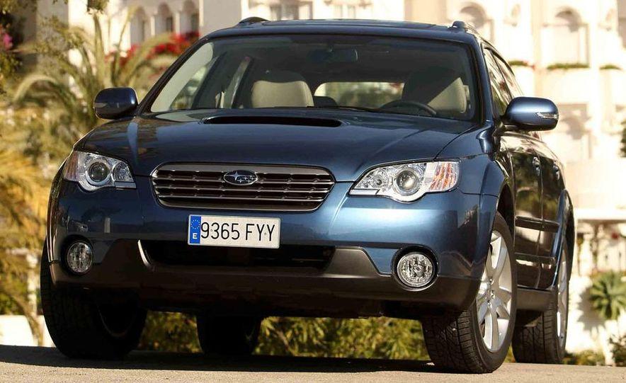 2008 Subaru Legacy Diesel European spec - Slide 26