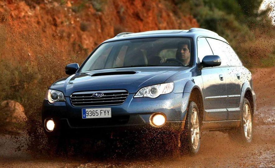 2008 Subaru Legacy Diesel European spec - Slide 27