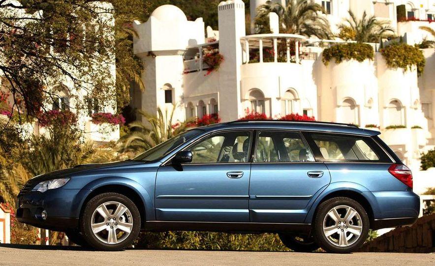 2008 Subaru Legacy Diesel European spec - Slide 28