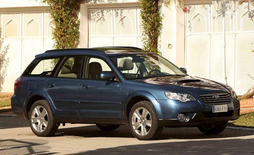 2008 Subaru Legacy Diesel European spec - Slide 29
