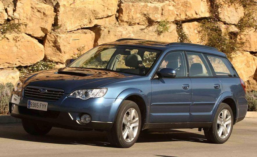2008 Subaru Legacy Diesel European spec - Slide 30