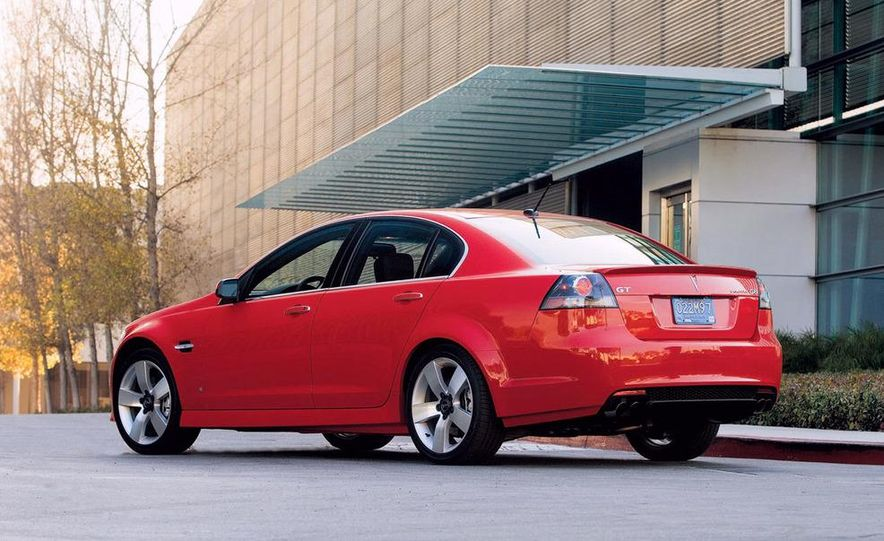 2008 Pontiac G8 GT - Slide 3