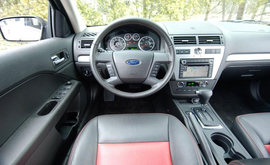 2009 Hyundai Sonata, 2008 Ford Fusion, 2008 Toyota Camry, 2008 Honda Accord, 2008 Dodge Avenger, 2008 Nissan Altima, 2008 Chevy Malibu - Slide 38