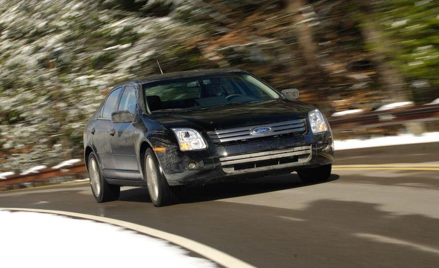 2009 Hyundai Sonata, 2008 Ford Fusion, 2008 Toyota Camry, 2008 Honda Accord, 2008 Dodge Avenger, 2008 Nissan Altima, 2008 Chevy Malibu - Slide 37
