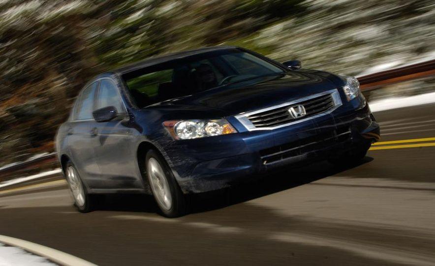 2009 Hyundai Sonata, 2008 Ford Fusion, 2008 Toyota Camry, 2008 Honda Accord, 2008 Dodge Avenger, 2008 Nissan Altima, 2008 Chevy Malibu - Slide 11
