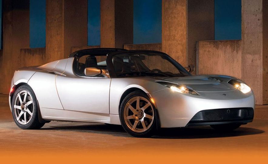2008 Tesla Roadster - Slide 1