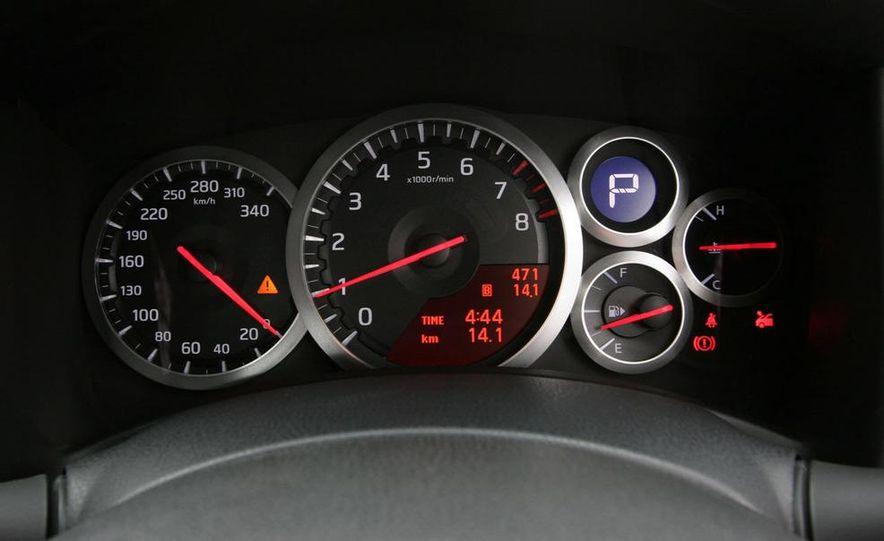 2009 Nissan GT-R instrument cluster - Slide 1