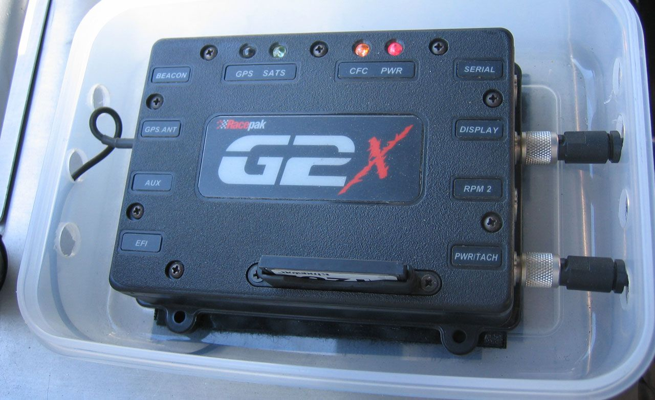 Racepak Data Systems G2X