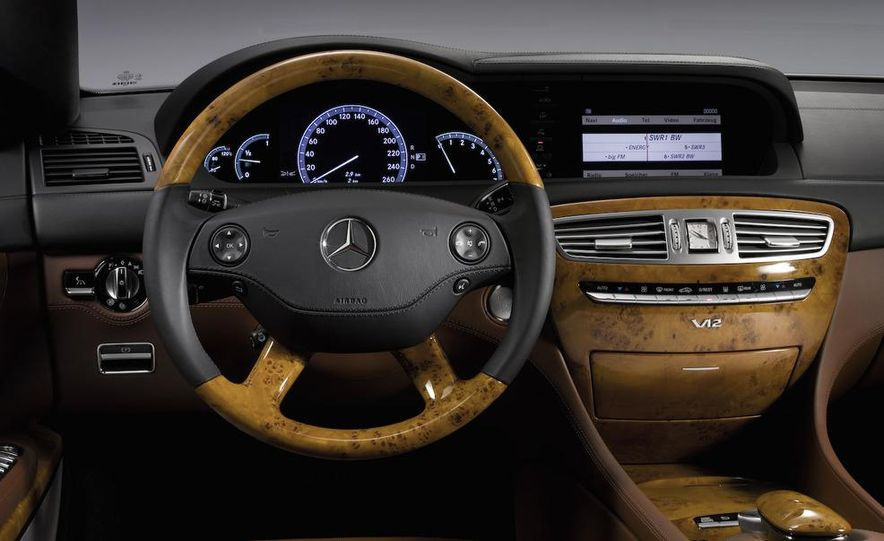 2009 Mercedes-Benz CL500 4MATIC - Slide 21