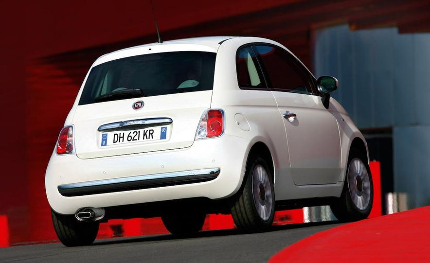2009 Fiat 500 Abarth - Slide 33